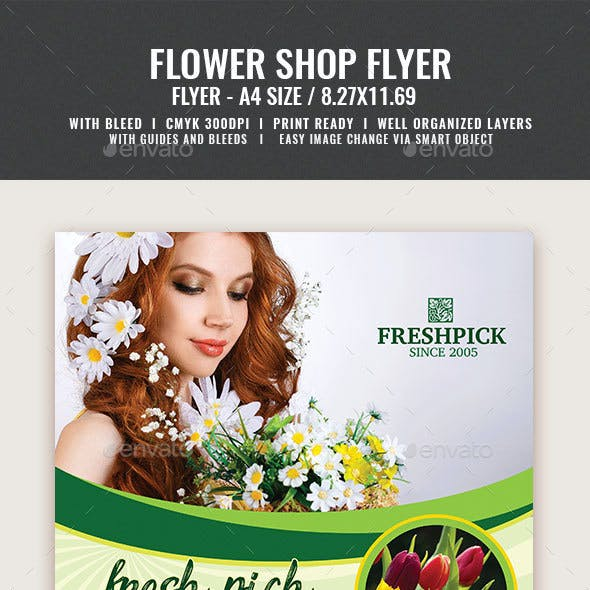 Flower Shop Flyer