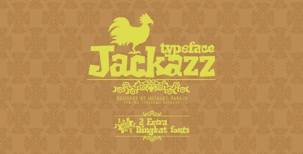 Jackazz - Decorative Fonts