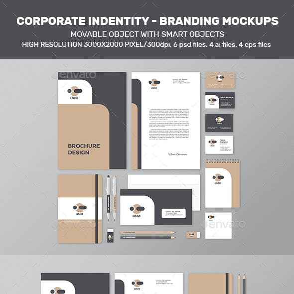 Corporate Identity – Branding Mock-Up