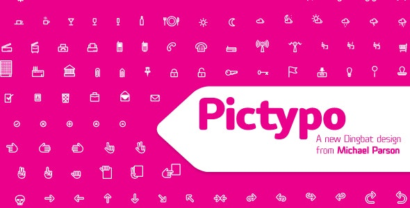 Pictypo - Ding-bats Fonts