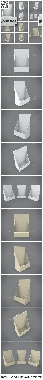 Table Top Display 3D Render - 3D Renders Graphics