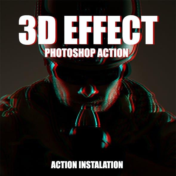 3D Effect - Photoshop Action