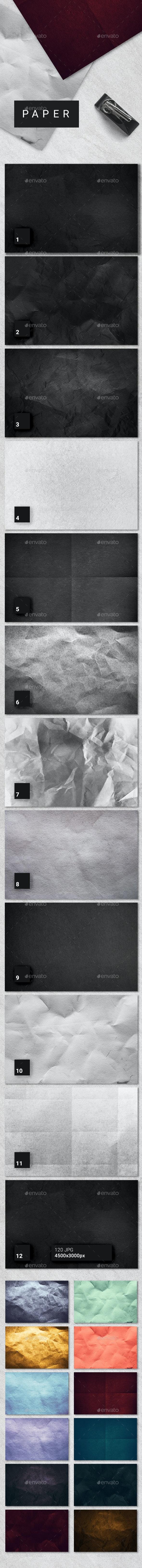 120 Paper Textures - Paper Textures