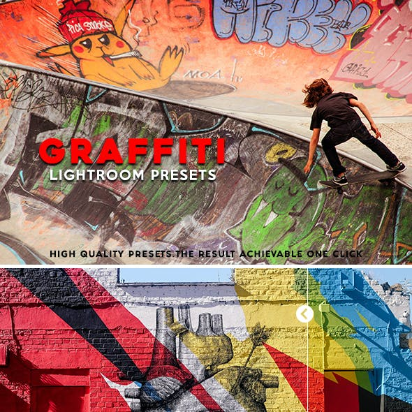 Graffiti 30 Lightroom Presets