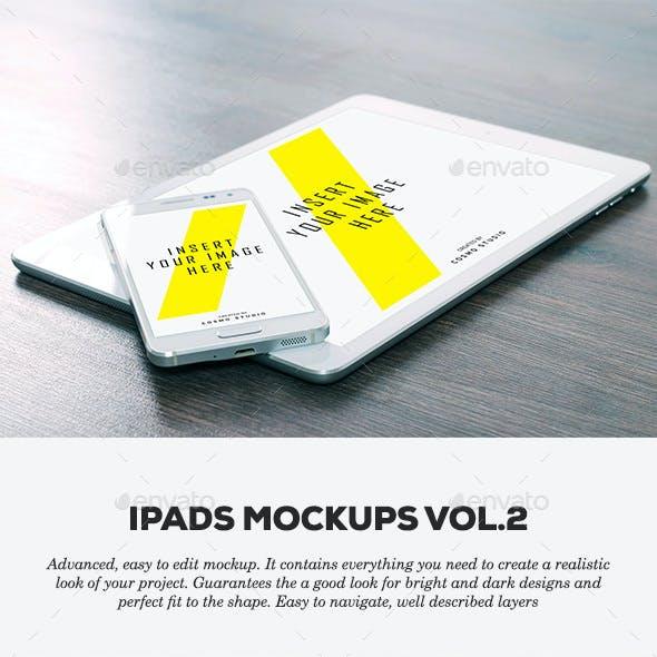 iPads Mockups Vol.2