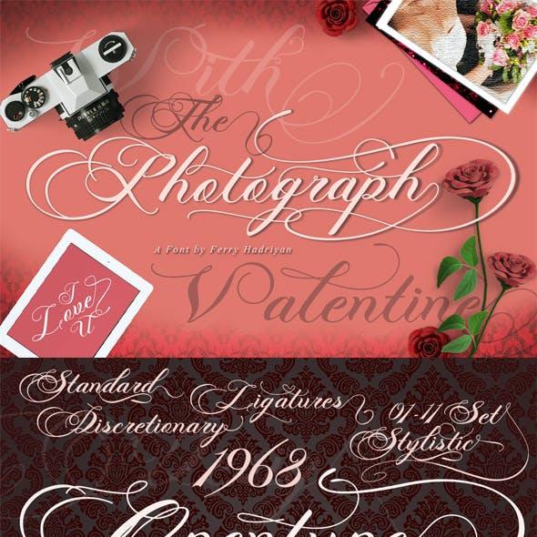 Photograph - Script Font