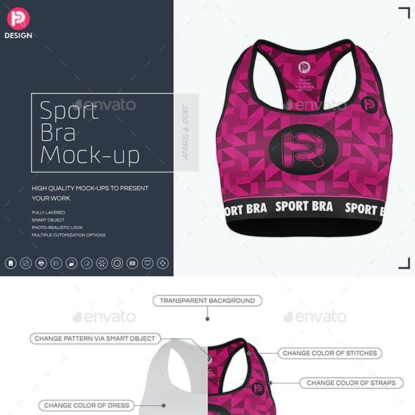 Sport Bra Mock-up