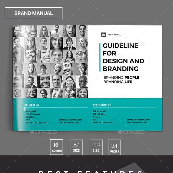 Brand Manual Brochure