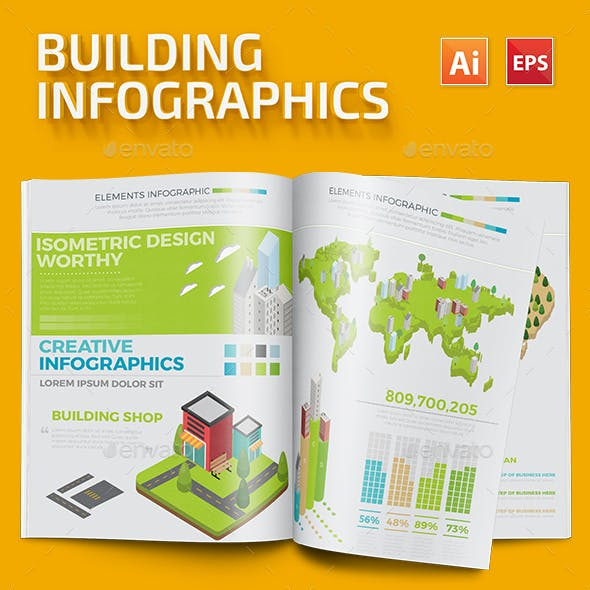Building Infographic Template