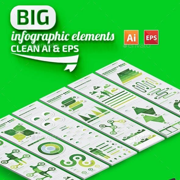 Big Green Infographics Design