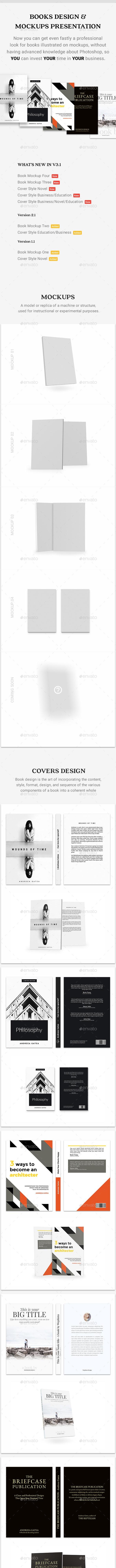 Book Mockup | Book Design - Books Print