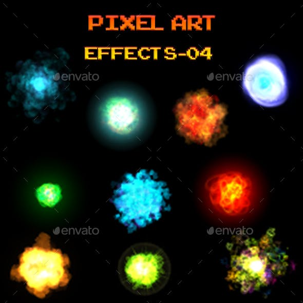 Pixel Art Effects 04