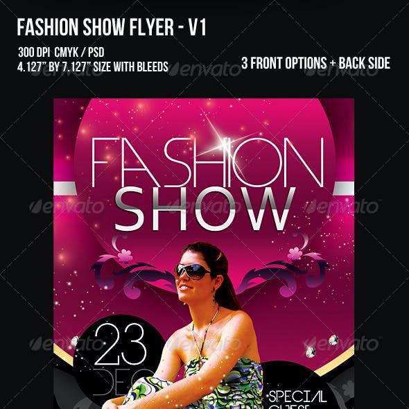 Fashion Show Flyer - V1