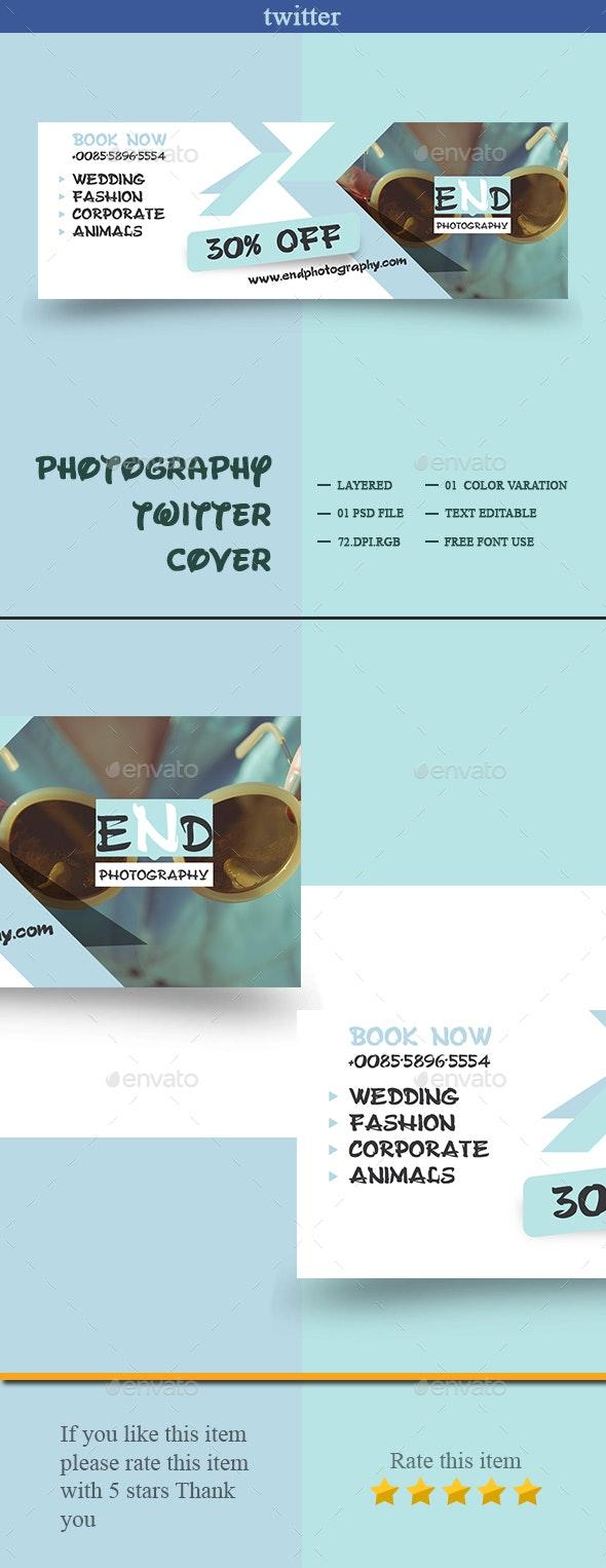 Photography Twitter Cover - Twitter Social Media