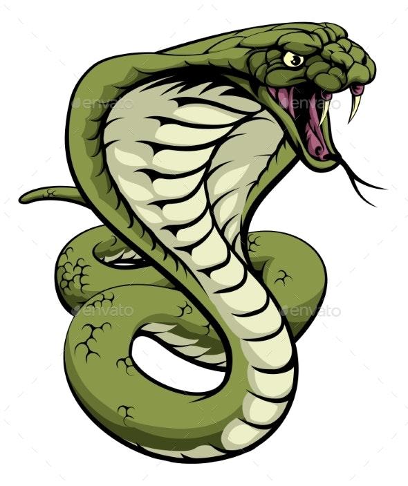 King Cobra Snake - Animals Characters
