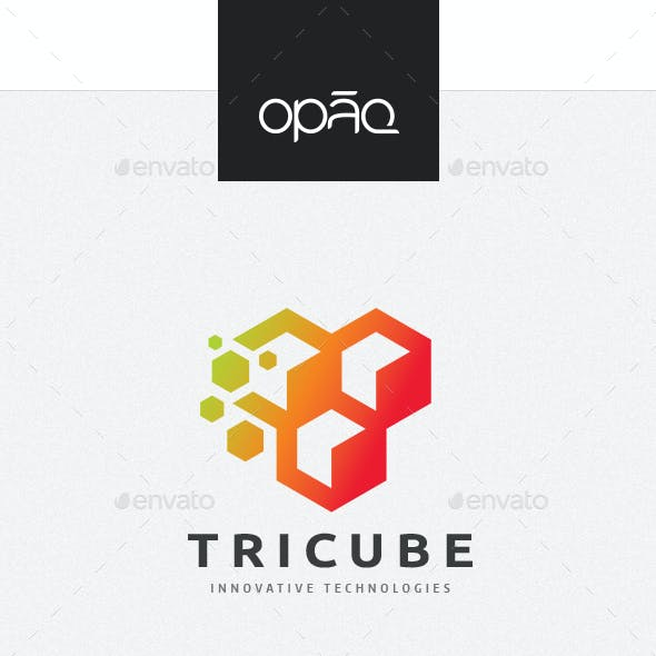 Abstract Data Cubes Logo