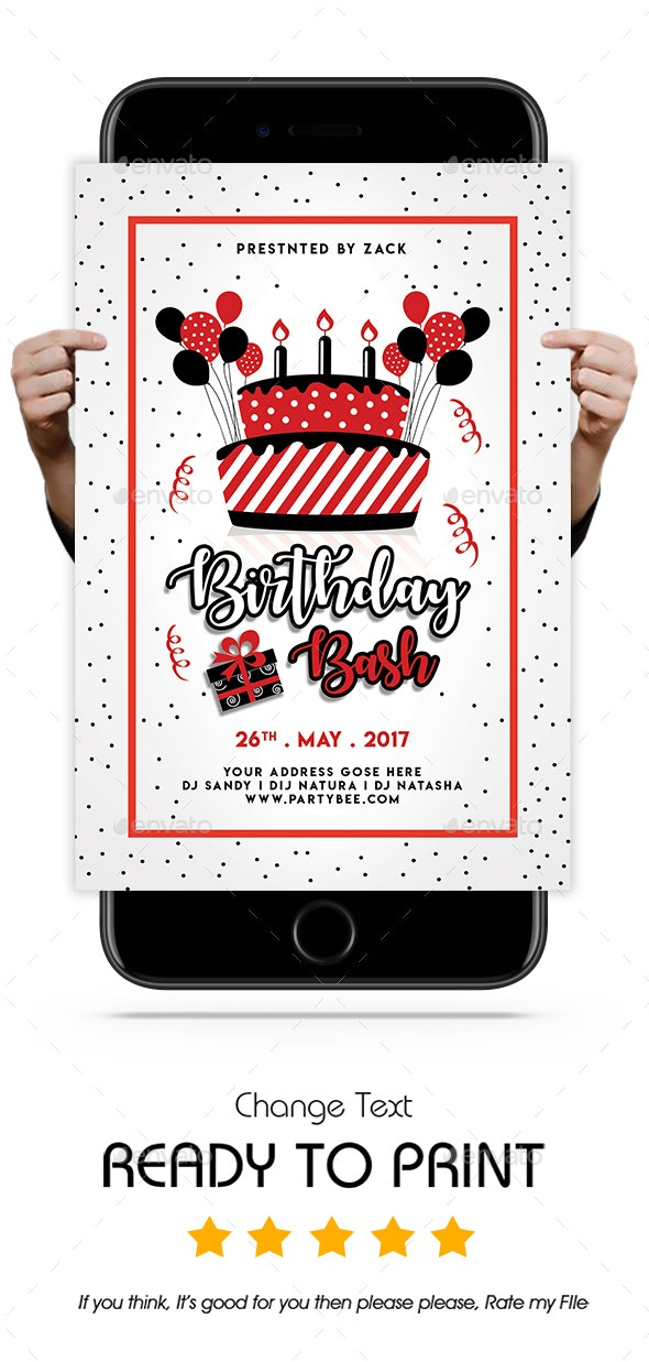 Birthday Bash - Clubs & Parties Events