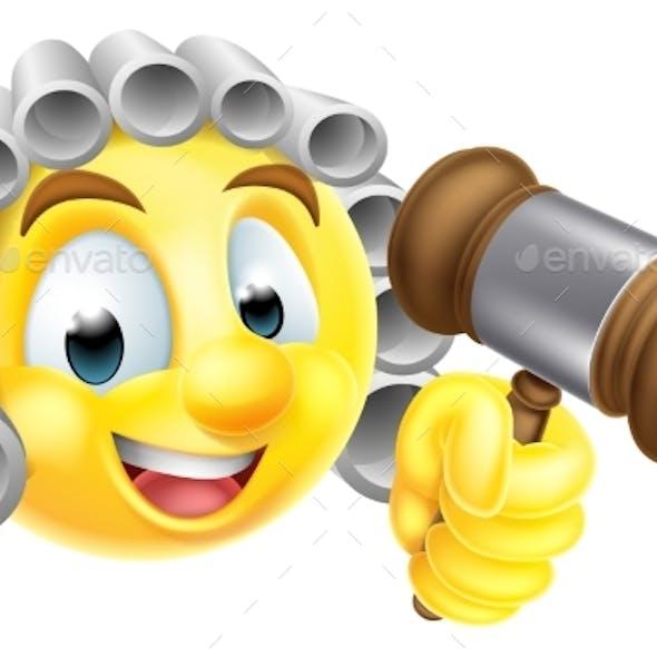 Emoticon Emoji Judge Character
