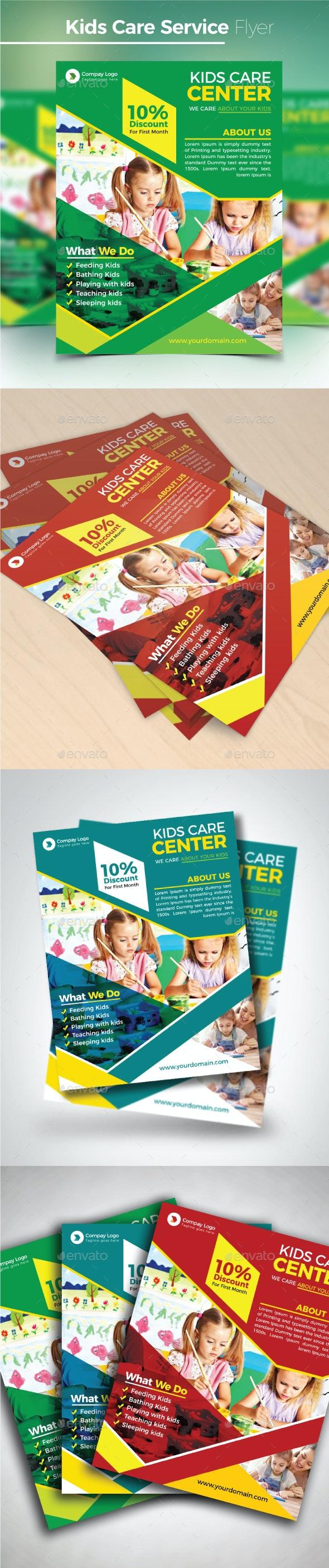 Kids Care Service Flyer - Commerce Flyers