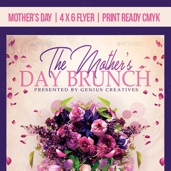 Mother's Day Brunch Event Template