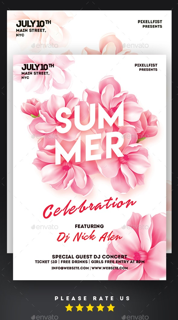 Summer Celebration - Clubs & Parties Events