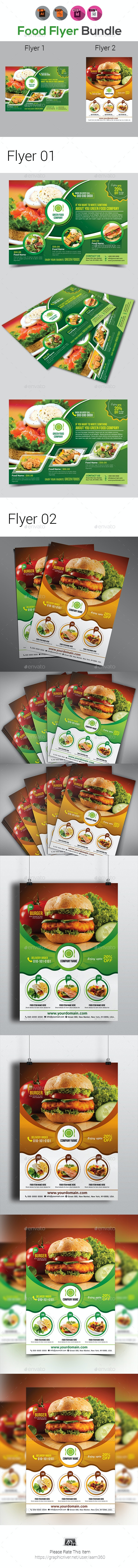 Food Flyer Templates - Restaurant Flyers