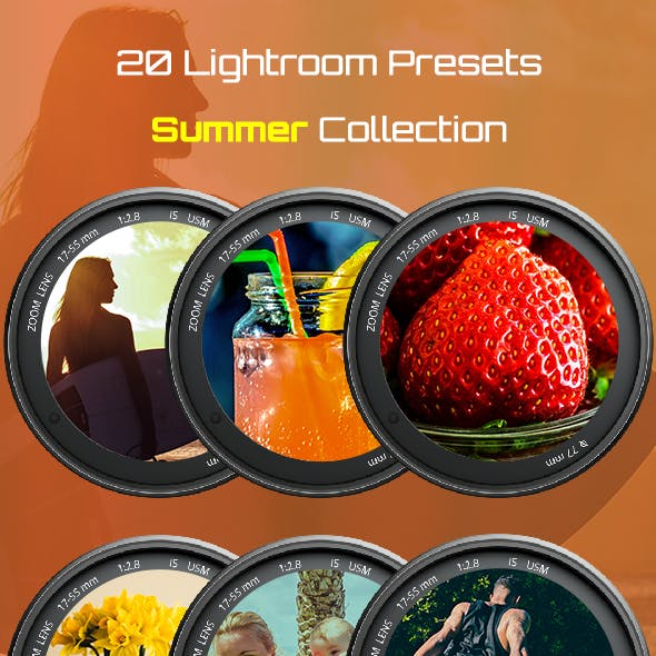 20 Summer Collections Lightroom Presets