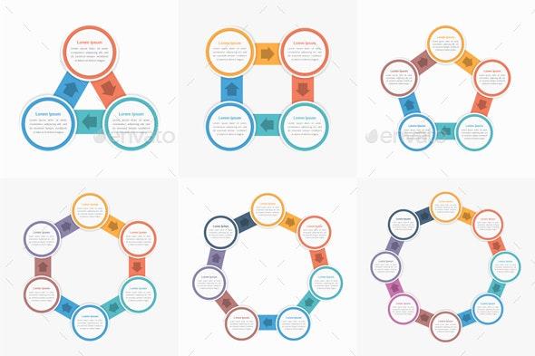 Circle Infographics - Infographics