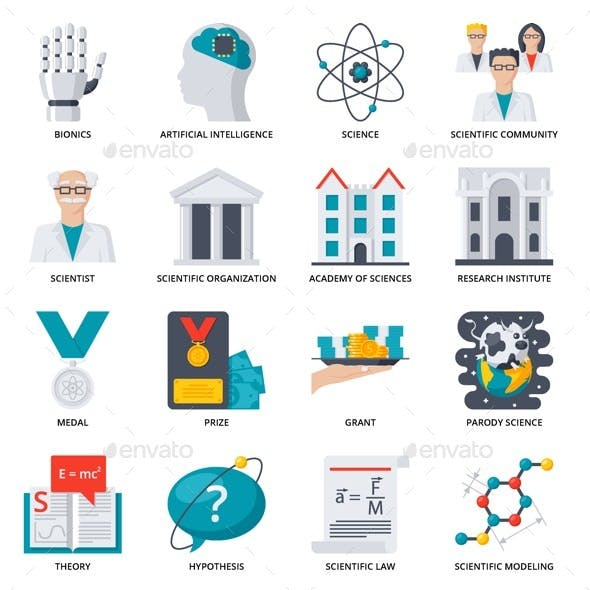 72 Science Icons