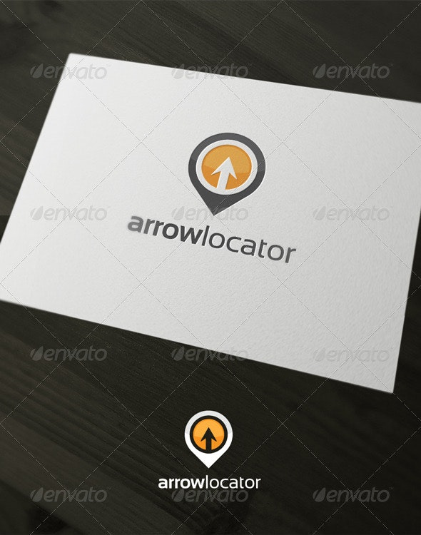 Arrow Locator - Vector Abstract