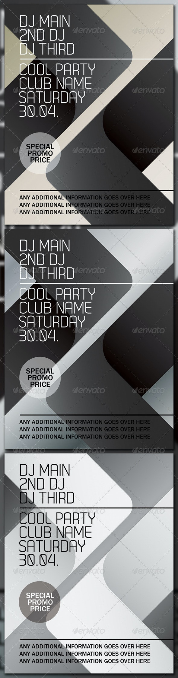POSTER - Clubs & Parties Events