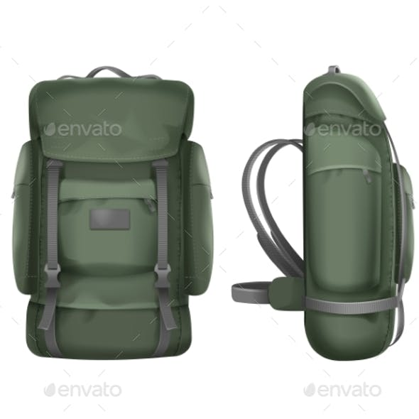 Green Travel Backpack