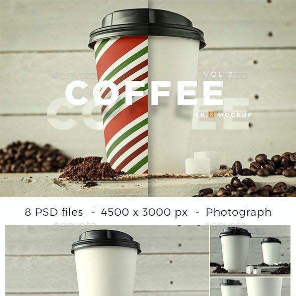 Coffee Branding Mockup - Vol 2.