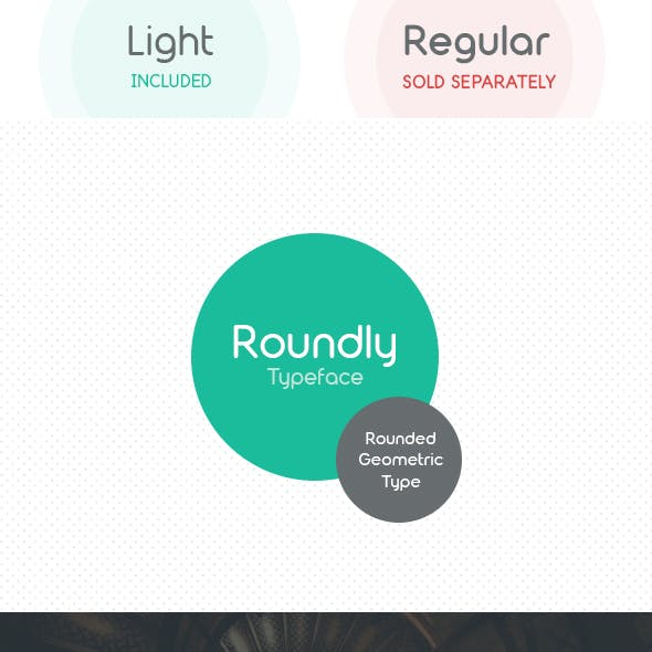 Roundly Light Typeface