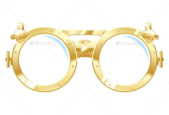 Steampunk Glasses - Man-made Objects Objects