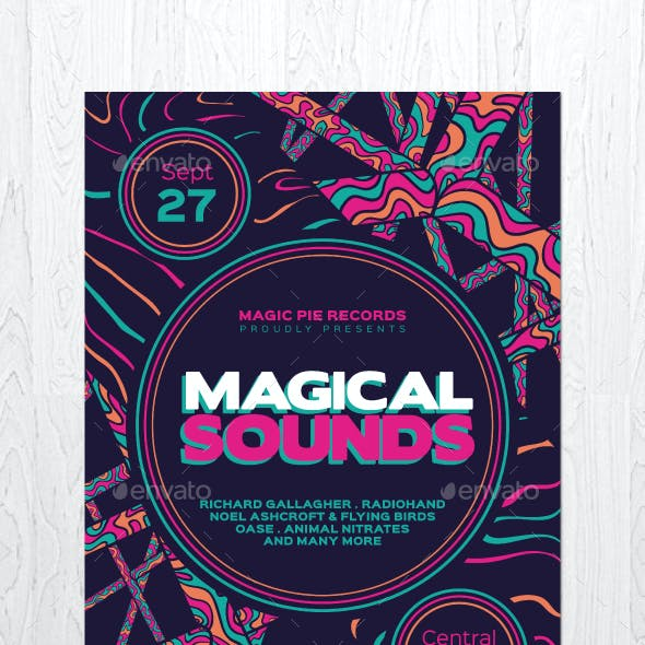 Magical Sounds Flyer