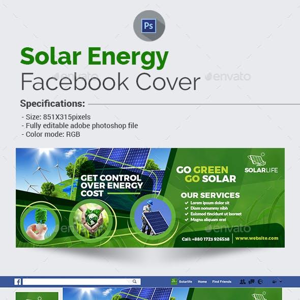Solar Energy Facebook Cover