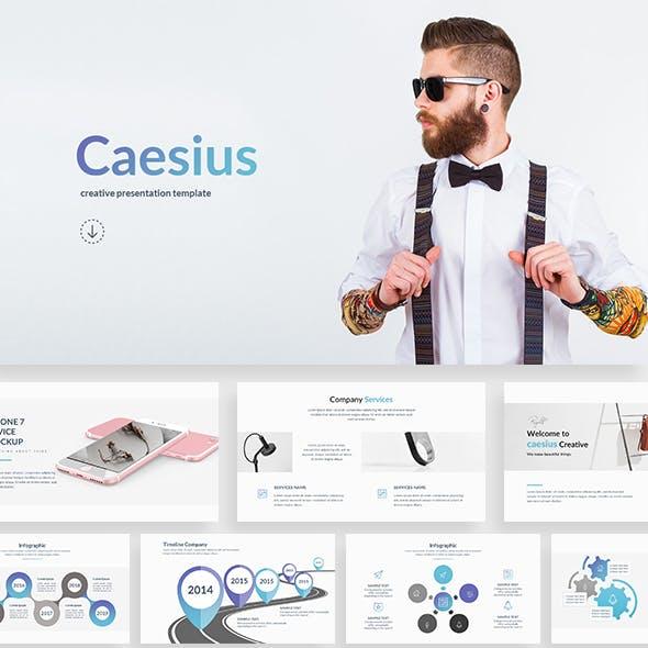 Caesius - Creative Google Slide Template