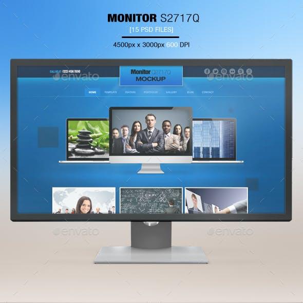 Monitor S2817Q App MockUp