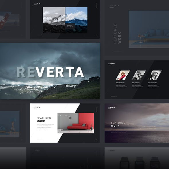 Reverta PowerPoint Template