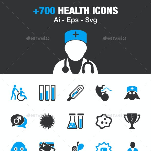Health & Medical Icons