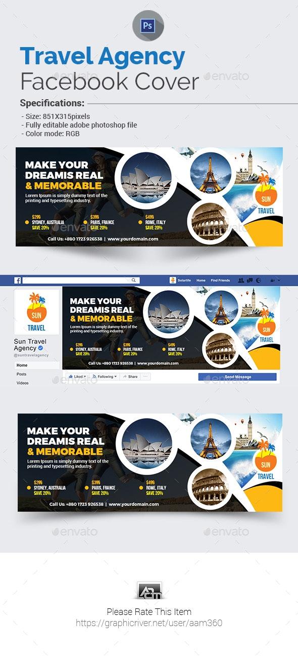 Travel Agency Facebook Cover - Facebook Timeline Covers Social Media