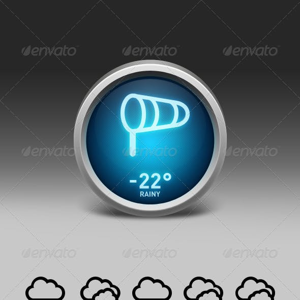 Weather Widget Interface