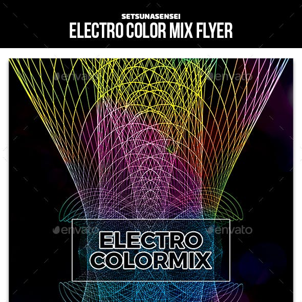 Electro Color Mix Flyer