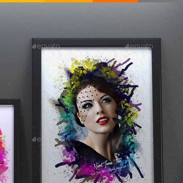 Artistic Photo Manipulation Template
