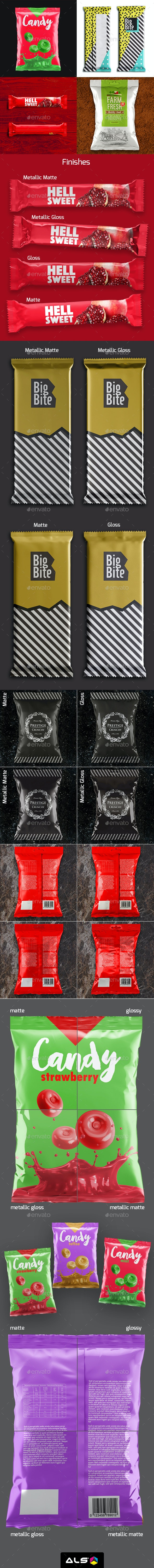 Packaging Bundle Mock-Up - Food and Drink Packaging