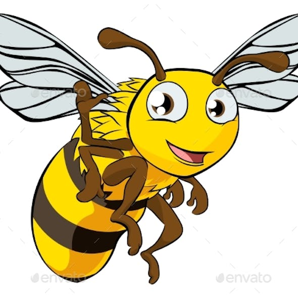 Cartoon Bee Illustration