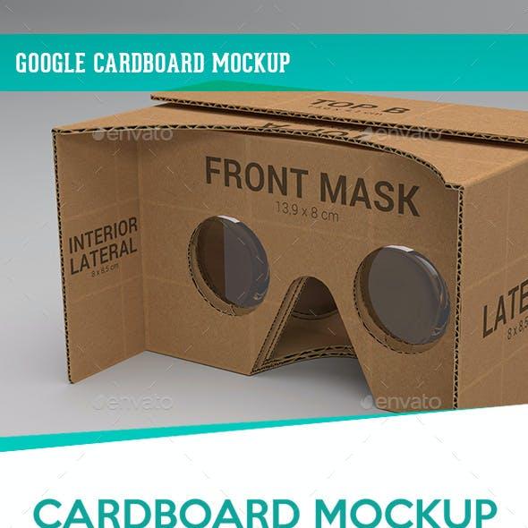 Google Cardboard Mockup