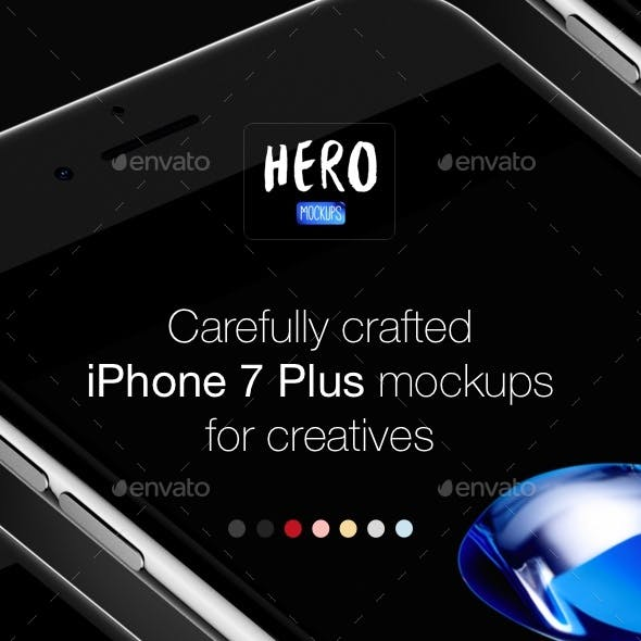 Phone 7 Plus Mockups