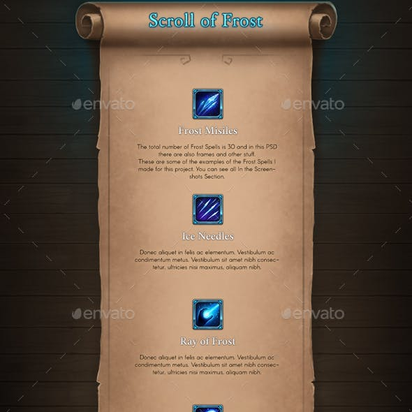 Scroll of Frost